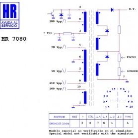 HR7080 TRASFORMATORE EAT
