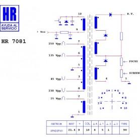 HR7081 TRASFORMATORE EAT