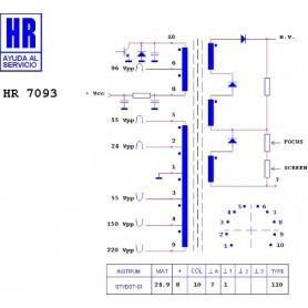 HR7093 TRASFORMATORE EAT