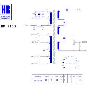 HR7103 TRASFORMATORE EAT