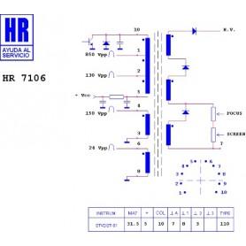 HUB USB 2.0 ALIMENTATO A 7 PORTE
