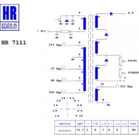 HR7111 TRASFORMATORE EAT