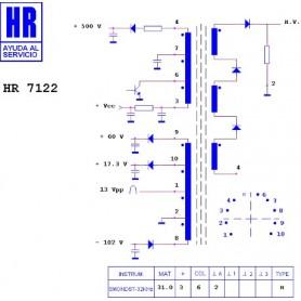 HR7122 TRASFORMATORE EAT