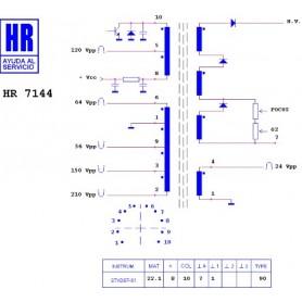 HR7144 TRASFORMATORE EAT