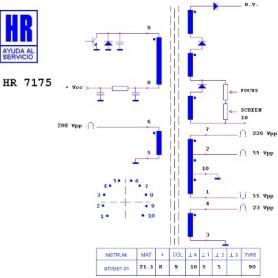 HR7175 TRASFORMATORE EAT