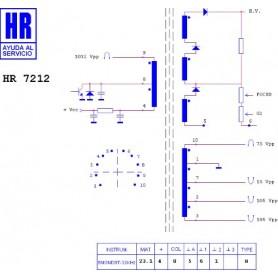 HR7212 TRASFORMATORE EAT