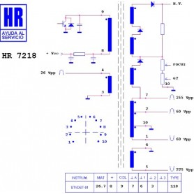 HR7218 TRASFORMATORE EAT
