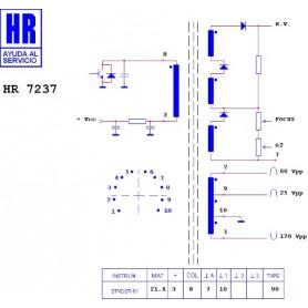 Induttanza toroidale 20 uH 2A
