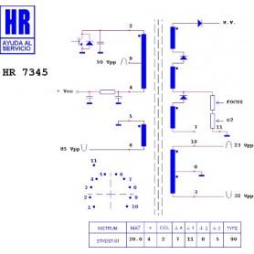 HR7345 TRASFORMATORE EAT