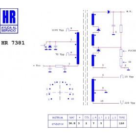 HR7381 TRASFORMATORE EAT