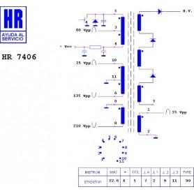 HR7406 TRASFORMATORE EAT