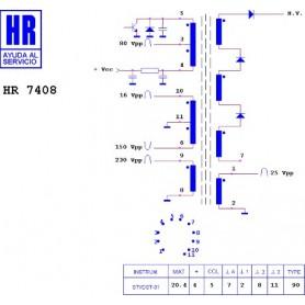 HR7408 TRASFORMATORE EAT