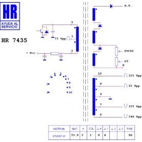 Interruttore termico n.c. 90° 10A