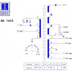 HR7455 TRASFORMATORE EAT