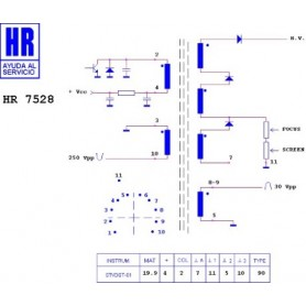 HR7528 TRASFORMATORE EAT