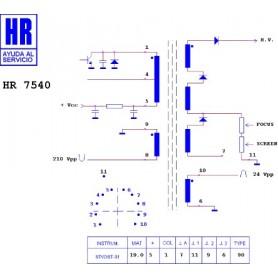 HR7540 TRASFORMATORE EAT