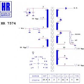 HR7574 TRASFORMATORE EAT
