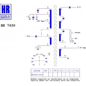 HR7630 TRASFORMATORE EAT