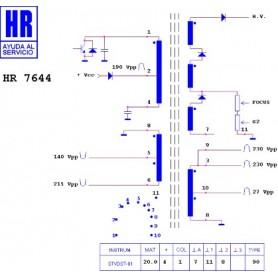 HR7644 TRASFORMATORE EAT