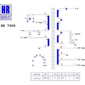 HR7669 TRASFORMATORE EAT