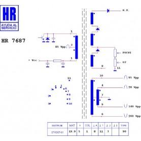 HR7687 TRASFORMATORE EAT