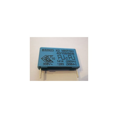 1,0UF-275V MKP-X2 CONDENSATORE ANTIDISTURBO RM=27,5