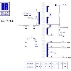 HR7751 TRASFORMATORE EAT