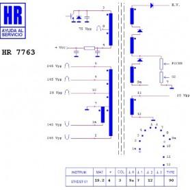 HR7763 TRASFORMATORE EAT