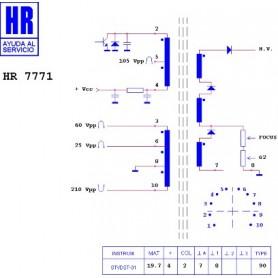 HR7771 TRASFORMATORE EAT