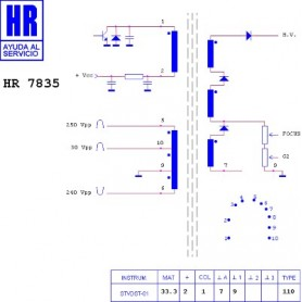 HR7835 TRASFORMATORE EAT