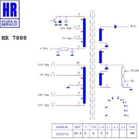 HR7888 TRASFORMATORE EAT