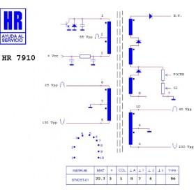 HR7910 TRASFORMATORE EAT