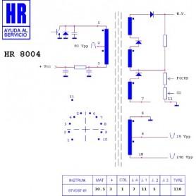 HR8004 TRASFORMATORE EAT