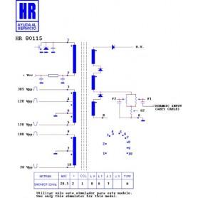 HR80115 TRASFORMATORE EAT