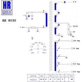 HR8030 TRASFORMATORE EAT