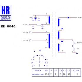 HR8040 TRASFORMATORE EAT