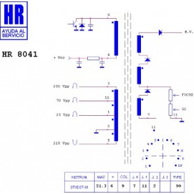 HR8041 TRASFORMATORE EAT