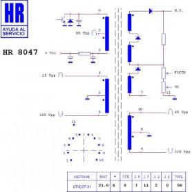 HR8047 TRASFORMATORE EAT