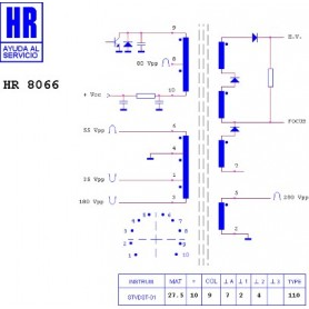 HR8066 TRASFORMATORE EAT