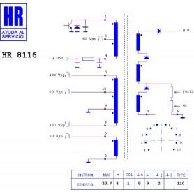 HR8116 TRASFORMATORE EAT