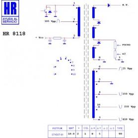 HR8118 TRASFORMATORE EAT