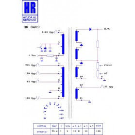 HR8409 TRASFORMATORE EAT