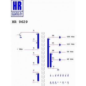 HR9629 TRASFORMATORE SWITCH