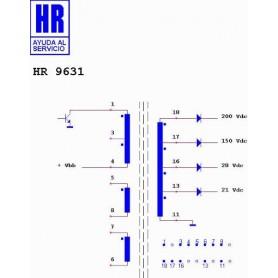 HR9631 TRASFORMATORE SWITCH