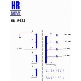 HR9632 TRASFORMATORE SWITCH
