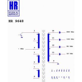HR9648 TRASFORMATORE SWITCH