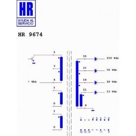 HR9674 TRASFORMATORE SWITCH