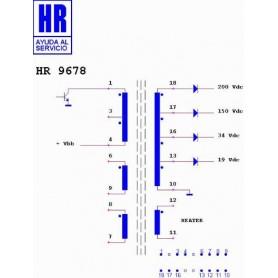 HR9678 TRASFORMATORE SWITCH