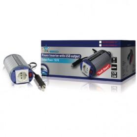 INVERTER A ONDA SINUSOIDALE MODIFICATA 12VDC-AC 230V 150W F (CEE 7/3) - USB