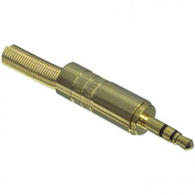 JACK STEREO 3,5 mm GOLD